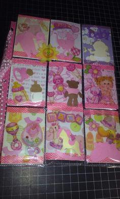Pocket Letter Baby Girl front