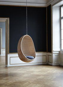 Nanna Ditzel Hanging Egg Chair  http://store.mjolk.ca/index.php?product=Hanging+Egg+chair+web&shop=1&search=egg+chair