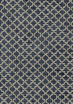 Cambridge #fabric in #dark #blue from the Woven Resource 2 collection. #Thibaut