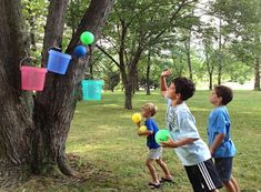 Summer Activities for Kids - Summer Activities for Kids Bucket Ball Summer Fun For Kids, Summer Activities For Kids, Games For Kids, Fun Activities, Birthday Activities, Birthday Games, Physical Activities, Summer Days, Kids Outdoor Play