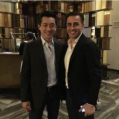 #FabioCannavaro Fabio Cannavaro: In Guangzhou with Mr Bee for Global Legends Series @glsfootball @bee.taechaubol @jdyandle