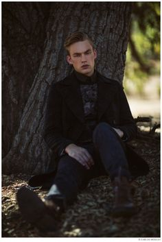 ANTMs Will Jardell Heads Outdoors for Stunning Photo Shoot by Carlos Moscat image Will Jardell ANTM Model Photo Shoot 2014 004 800x1199