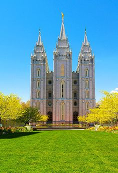 Salt Lake City LDS Temple    #MormonLink #LDSTemples