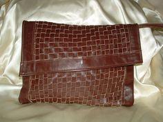 Vintage 1970s Moiseff Original Leather by twocrazybagladies, $90.00.  https://www.etsy.com/listing/92927876/vintage-1970s-moiseff-original-leather