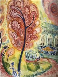 Isaac Grünewald Det sjungande trädet (Поющее дерево) 1914-15 гг.