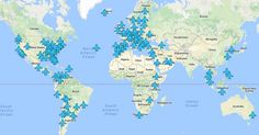 The map we never knew we needed.Wi-Fi passwords from airports around the world in one brilliant map
