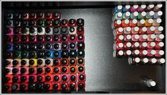 Temptalia Nail Polish Stash Storage Solution