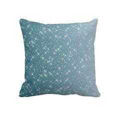 Sparkles Teal Pillows