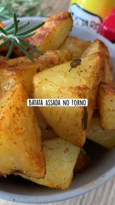 Healthy Potato Recipes, Vegetarian Recipes, Good Food, Yummy Food, Salty Foods, Vegan Foods, Diy Food, No Cook Meals, Food Videos