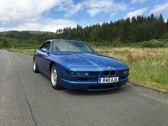BMW 8 series blue