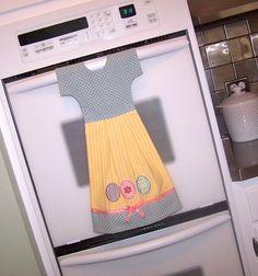 Kitchen Towel Hanging Dish Towel Dress