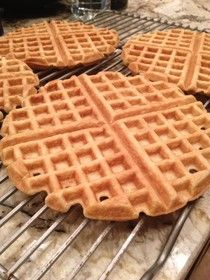 SCD Toaster Waffles (*Omit maple sugar or substitute with honey...)