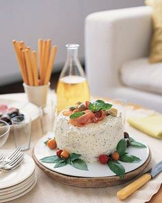 Focaccia Cake Appetizer Recipe