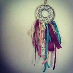 Just learned how to make a dream catcher :)