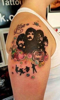 4-Beatles Tattoo