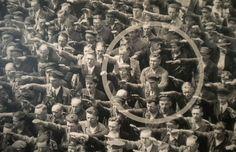 O operário que cruzou os braços diante de Hitler August Landmesserm