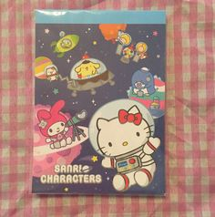 Sanrio Hello Kitty memo pad 4 designs kawaii