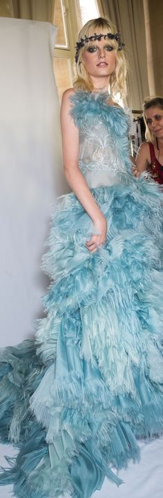 Atelier Versace fall 2015 couture stylebistro.com