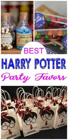 Harry Potter party favor ideas for kids that are easy a… INCREDIBLE Party Favors! Harry Potter party favor ideas for kids that are easy and fun! Goodie bags, DIY ideas, party favor bags and more. Harry Potter Halloween, Harry Potter Motto Party, Dulceros Halloween, Harry Potter Christmas, Harry Potter Birthday, Harry Potter Parties, Harry Potter Themed Party, Harry Potter Navidad, Harry Potter Weihnachten