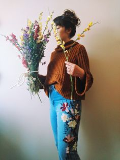 Amy flying a kite: my life in photographs // snap dragon bouquet