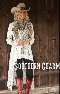 * Beautiful Lace Tunic Top With Shark Bite Hem Line – Shop Southern Charm