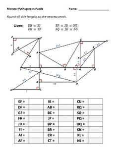 Pythagorean Theorem Practice: Is it a Right Triangle Fun