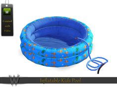 -Inflatable Kids Pool  Found in TSR Category 'Showers & Tubs'