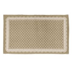 PRINTED INTERNAL SPACE CARPET BEIGE DOTS 90X60 - Carpets - Rugs - FABRIC ITEMS