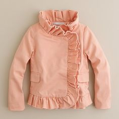 ♥ ruffle jacket ♥ can i have this in adult size?
