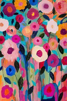 Trademark Fine Art Autumn Splendor Canvas Art by Carrie Schmitt, Size: 22 x Multicolor Painting & Drawing, Painting Prints, Art Prints, Paintings, Framed Prints, Artist Canvas, Canvas Art, Canvas Prints, Abstract Flowers