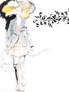 Awazu Yasunari Illustration 2014 Spring