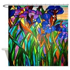 stained_glass_flowers_shower_curtain.jpg (225×225)