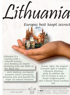 Lithuanian Travel Poster, http://www.eventumgroup.lt/eng/News/index/