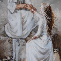 Image Jesus, Gods Princess, Pictures Of Jesus Christ, Jesus Christus, Christian Artwork, Bible Illustrations, Jesus Painting, Bride Of Christ, Prophetic Art