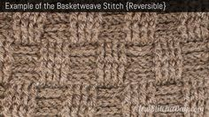 Basketweave crochet pattern: good general directions BUT Mikey does a better job with the edging and beginning of the piece. Watch that tutorial as well!