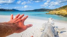 The Hand in the Whitsundays