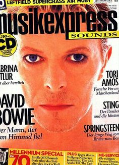 David Bowie - Magazine Covers, 1999.