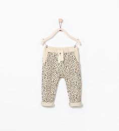 Image 1 of ANIMAL PRINT TROUSERS from Zara