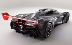 Mazda Furai...I always wanted Mazda to make and race this!! Look at that brake light!!