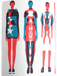 Hi_Res Spread #4 by John Lisle, fashion illustration
