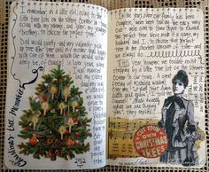 "From my Christmas memories Moleskine journal--finding the ""perfect"" Christmas tree"