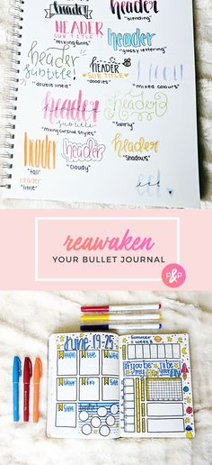 Reawaken Your Bullet Journal http://productiveandpretty.com/reawaken-your-bullet-journal/?utm_campaign=coschedule&utm_source=pinterest&utm_medium=Productive%20and%20Pretty&utm_content=Reawaken%20Your%20Bullet%20Journal