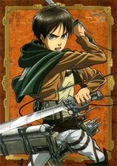 Eren - Attack On Titan - Shingeki No Kyojin - Ataque a los Titanes