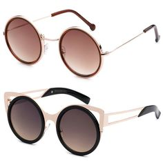 Gotshades.com carries many styles of sunglasses, like these round and cat-eye sunglasses! #EyeDentification http://www.gotshades.com/brands/eye-dentification