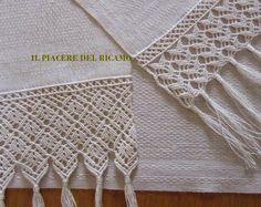 Удовольствие вышивка: классическая отделкой макраме