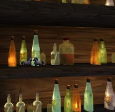 Cute things on the shelves at the bar in my Tavern :)  #Warcraft