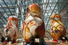 giant nesting dolls - Google Search