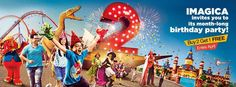 Adlabs Imagica- Aqua Imagica Offer Buy 2 Get 1 ticket free. Anniversary offer Best place to visit in 2015 summer 2015