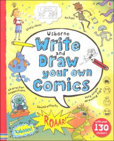 Usborne Write and Draw Your Own Comics | Main photo (Cover)
