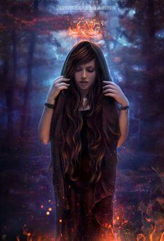 Discover Photo Manipulation Art on DeviantArt Foto Fantasy, Gothic Fantasy Art, Fantasy Women, Fantasy Girl, Dark Fantasy, Wattpad Book Covers, Speed Art, Ange Demon, Female Character Inspiration